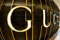 """""""G"""" is for Gucci (Karsten Gieselmann) Tags: 8mmf18 architektur blau em5markii farbe gold innenraum kunstlicht licht mzuiko microfourthirds olympus private reise architecture blue color golden kgiesel light m43 mft travel"""