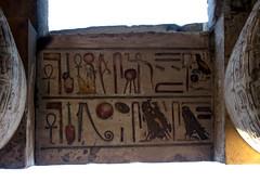 Hierogylphs in the Precinct of Amun-Re, Karnak (daveunderwoodphotos) Tags: 2012 egypt luxor karnak precinctofamunre hieroglyphs