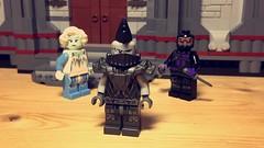 EEhhh. . . (LordAllo) Tags: lego dc king shark suicide squad assault arkham arkhamverse killer frost black spider