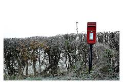 """Stamp required ! (CJS*64 """"Man with a camera"""") Tags: dslr d7000 nikon nikkorlens nikkor nikond7000 cjs64 craigsunter cjs stamp letter letterbox red colour colours"""