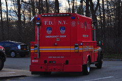 FDNY Emergency Crew 532 (Triborough) Tags: ny nyc newyork newyorkcity richmondcounty statenisland woodrow fdny newyorkcityfiredepartment firetruck fireengine emergencycrew emergencycrew532 ford fseries f450