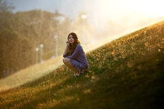 *** (Fevzi DINTAS) Tags: pose portrait modeling style fashion passion outdoor nature sunset teen girl lady smile happy garden bokeh light waterspring cute beautiful lovely sweet pretty asian thailand single lonely waiting alone feeling mood dress paza140