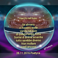 Varchi nel buio (Poetyca) Tags: featured image immagini e poesie sfumature poetiche poesia