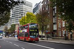 London Central WVL384 LX60DXS Route 12 Elephant & Castle (TfLbuses) Tags: tfl public transport for london red double decker buses wrightbus gemini volvo b9tl go ahead central