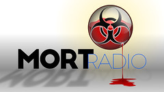 MORTradio Leaking Biohazard Circle (MORTradio) Tags: mortradio mortuary mortician biohazard biohazardwarning leaking circle internetradio show wallpaper inkscape gimp title photoshop editing effects photoeffects splatter grunge harryhatesgolf