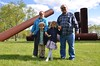 The Kids With Grandma & Grandpa At Storm King On Mothers' Day (Joe Shlabotnik) Tags: abstract verne 2016 violet nancy adonai stormking everett may2016 sculpture afsdxvrzoomnikkor18105mmf3556ged