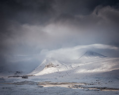 Blackmount, Rannoch Moor (Roksoff) Tags: lochanachlaise lochanstainge blackmount lochba rannochmoor glencoe scottishhighlands scotland meallabhuiridh criese buachailleetivemor winter snow ice frozen water mountains outdoors landscape nikond810 1635mmf4 leefilters