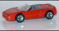 FERRARI F 355 Spider (2420) HW L1050968 (baffalie) Tags: auto voiture miniature diecast toys jeux jouet