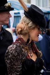 Steampunk Festival, Lincoln (Sue_Shaw) Tags: festival canon costume era lincoln fancydress canoneos steampunk bailgate canon60d