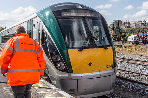 THE MINISTER PLUS PLATFORM 10 AND THE PHOENIX PARK RAILWAY TUNNEL [NOT FORGETTING IRISH RAIL STAFF] REF-107105