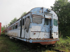northern ohio museum 099 (Fan-T) Tags: airport rust trolley cleveland ghost seville haunted abandon transit pullman standard paranormal rapid 117 cts rta northernohiomuseum greatstreetcarwreck