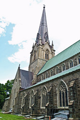 Christ Church Cathedral (2012) (VRileyV) Tags: new building green church architecture fredericton brunsick summer2012