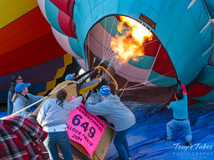 "Light it up! ""The Crew Balloon"" prepares for flight"