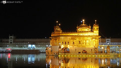 Golden Temple​ in full glory !!! (akshaypatil™ ® photography) Tags: building night religious temple gold golden view outdoor places nightview goldplated amritsar goldentemple religiousplaces