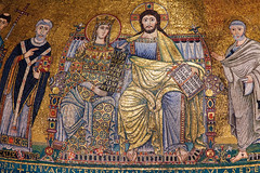 Coronation of the Virgin Mary (Nick in exsilio) Tags: italy pope rome mosaic virgin peter lazio coronation tonsure songofsongs pallium canticleofcanticles calixtus