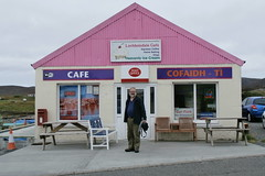 P9070682 (Steve Guess) Tags: pink cafe south postoffice western outer isles uist hebrides lochboisdale