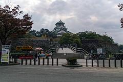 : Of rain this Osaka Castle ( manbo) Tags: travel urban castle 20d japan canon town osaka 1785mm