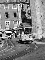 Lisbon Tram 488 (saxonfenken) Tags: street city portugal lisbon transport tracks rails 488 thechallengefactory yourock2nd 488med