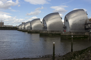 Thames Barrier, E16 / SE18