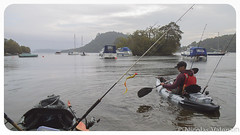 Rearing to go (Nicolas Valentin) Tags: light sky lake fish landscape ilovenature island freedom scotland fishing scenery aqua kayak alba scenic adventure kayaking loch lomond lochlomond kayakfishing impressedbeauty aplusphoto kayakpike kayakscotland kayakfishingscotland