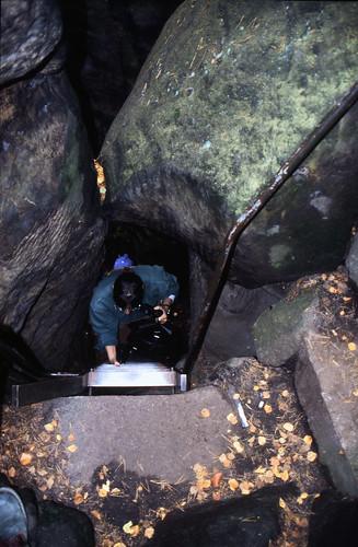 """Elbsandsteingebirge (121) Pfaffenstein Nadelöhr • <a style=""""font-size:0.8em;"""" href=""""http://www.flickr.com/photos/69570948@N04/21901764208/"""" target=""""_blank"""">View on Flickr</a>"""