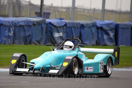 Ginger Marshall in the Excool OSS Championship at Donington Park, October 2015