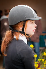 Red Rider (splaett) Tags: horse france net girl french caballo cheval ginger jumping pretty adolescente candid young babe redhead riding teen pony teenager freckles rider fille cavallo pferd equestrian equine rousse paard cavaliere poney equitation jumpinggirl rouquine