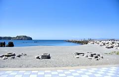 Niijima (eliseteshiraishi) Tags: costa praia beach japan strand landscape tokyo sand outdoor playa paisagem getty plage beiramar  spiaggia gettyimages platja tranquilscene niijima gettyimage   plaj aoarlivre perfectescape  hitn gettyimagesjapan bchi badasga niijimamura