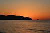 Plain Sunset Shot (Yohsuke_NIKON_Japan) Tags: ocean sunset sea orange coast shimane asari sanin seaofjapan 島根 2485mm 山陰 gotsu 江津 d7100 浅利海岸