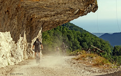Downhill (Darea62) Tags: mountains downhill cycling tunnel rocks road path versilia bike bikers apuan alps sport outside hobby leiseure