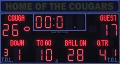 D140382P (RobHelfman) Tags: sports losangeles football highschool scoreboard playoff crenshaw arleta