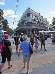 The Corso, Manly. (MWBee) Tags: people streets outside nikon manly sydney australia d750 crowds thecorso sharksbar newbrightonhotel mwbee