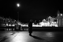 the watcher.. (Cem Bayir) Tags: street leica people night dark 50mm lights lowlight view f14 zrich viewpoint summilux asph watcher zh messsucher asperical leicam240