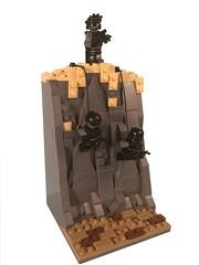 Under the Radar (Dyroth) Tags: lego custom pandas minifigures brickarms legoguns legomilitary legocustom customlegoguns legowar minifigcat customminifigures legodesert legomodernwar legodiaroma
