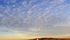 Wrmster November Morgens: 15 Grad noch vor acht Uhr (eagle1effi) Tags: blue sky clouds landscape bluesky panoramic landschaft schneswetter 31mm waldhuserost waldhausen