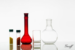 Chemistry Glassware on White (gwhiteway) Tags: blue school test white canada industry college glass st newfoundland education lab background tubes experiment science equipment medical pharmacy health research chemistry laboratory sample medicine nl transparent discovery liquid johns solution isolated beaker funnel nfld biotechnology chemical analysis clinical scientific glassware biochemistry substance pharmaceutical pharmacology analyzing