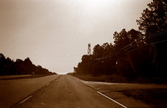 road trip / the south east (bluebird87) Tags: leica tower sepia fire kodak trix 400 epson m6 4490 dx0