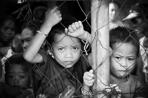 Tiny Prisoners In Black and White