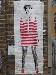 Street art on Fashion Street (stillunusual) Tags: uk travel england urban streetart london wall graffiti mural cityscape streetphotography wallart streetscene urbanart shoreditch twiggy fashionstreet urbanlandscape urbanscenery 2015 travelphotography ldn travelphoto urbanwalls londonstreetart travelphotograph londonstreetphotography mrfahrenheit wallporn graffitiporn