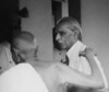 Gandhi and Jinnah (Doc Kazi) Tags: pakistan india independence negotiations ceremonies jinnah gandhi nehru mountbatten viceroy wavell stafford cripps edwina fatima muhammad ali