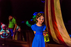 Peter Pan -- Wendy on the Plank (Havoc315) Tags: 2016 vacation disney disneyworld peterpan peterpansflight wendy wendydarling nikond750 tamron4518 tamron 4518 d750 darkride