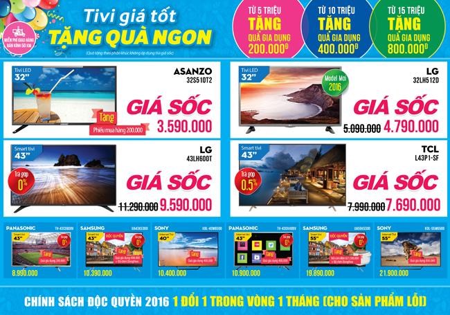 Khai trương siêu thị Điện máy XANH Chúc Sơn, Hà Nội
