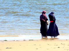 Anticipation (dimaruss34) Tags: newyork brooklyn dmitriyfomenko image manhattanbeach beach woman women
