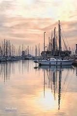 (359/16) ltimas horas (Pablo Arias) Tags: pabloarias photoshop mar agua mediterrneo barcos botes mstiles almerimar almera elejido comunidaddeandaluca