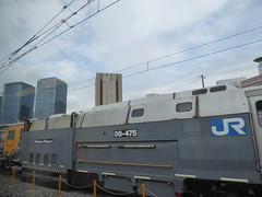 Interesting freight trains (seikinsou) Tags: japan spring haruka train jr railway kix kansai airport shinosaka freight cargo