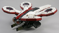 D9 Dragonfly Hoverdrone (MaverickDengo) Tags: lego moc dragonfly space scifi drone futuristic military ldd