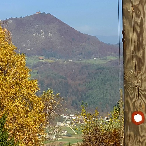 Taking a hiking trip near Ljubljana. Can you name the church on the other side of the valley? #sloveniaincognita @heart_of_slovenia
