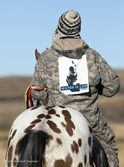 Water Is Life Message (Greenpeace USA) Tags: oil climate water climagechange dakota access pipeline demonstration north native tribe standingrock sioux cantaoetacreek cannonball northdakota