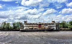 Old Boat. Tamar River near Launceston