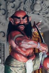 Ogoh-Ogoh Statue, Bali Indonesia (AdamCohn) Tags: adamcohn bali balinese balinesehinduism gianyar indonesia ogohogoh statue wwwadamcohncom